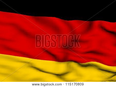 Image Of A Flag Of Germany