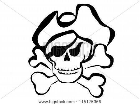 Simbol Of Pirate