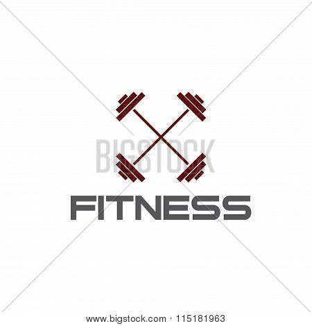 Barbell Fitness Illustration