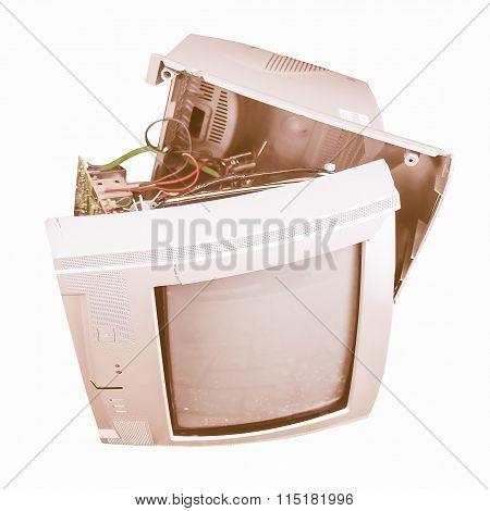 Old Tv Set Vintage