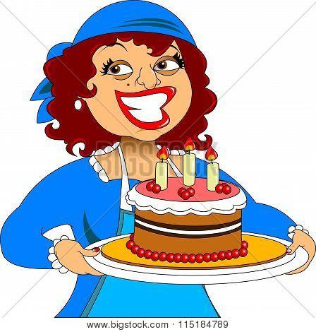 Chef And Cake