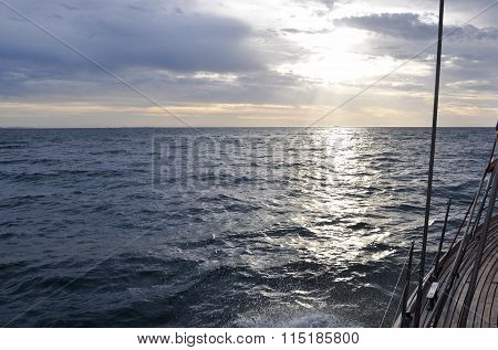 Evening Sail: Indian Ocean, Western Australia