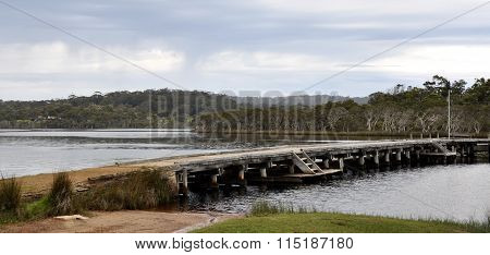 Walpole River and Jetty, Western Australia