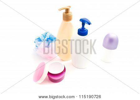 Shower Gel, Cream And Wisp