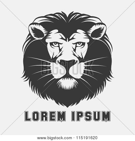 Lion logo element