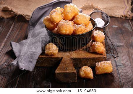 fried french donut