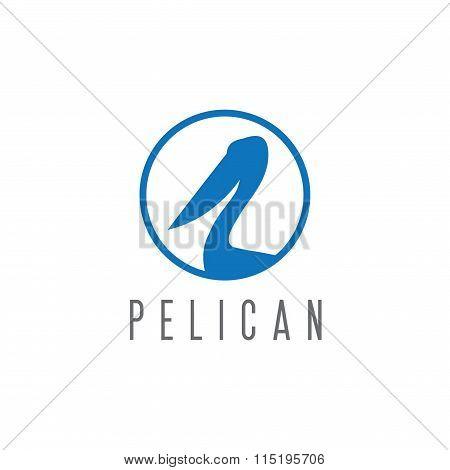 Pelican Vector Design Template