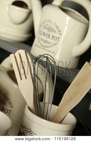 Kitchen accessories. Decoration