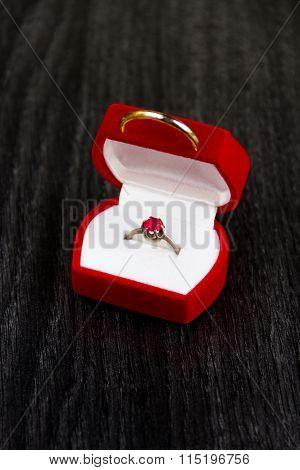 Romantic Engagement Ring
