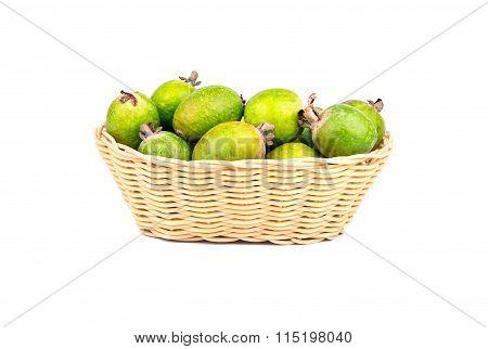 Basket Of Fruit Feijoa