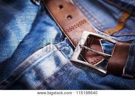 Old Leather Belt