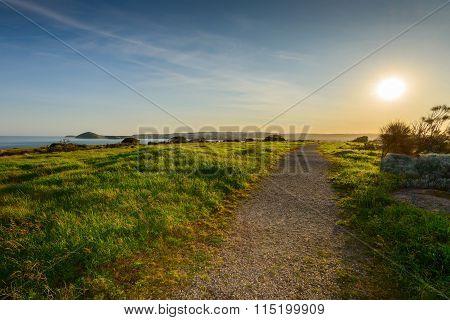 Sunset Above Granite Island