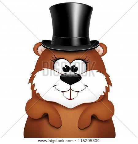 Postcard to Groundhog Day