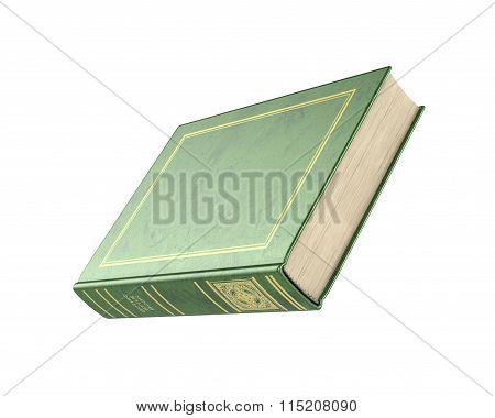 3D Render Of Empty Book.