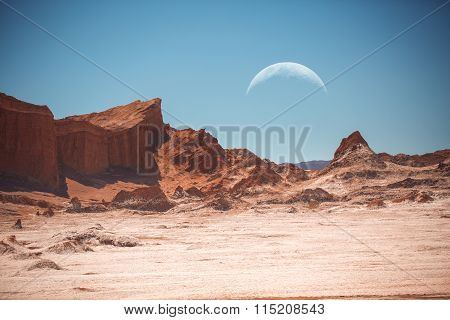 The Moon In The Moon Valley.