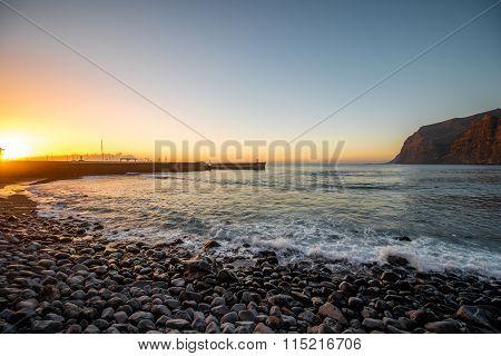 Los Gigantes beach