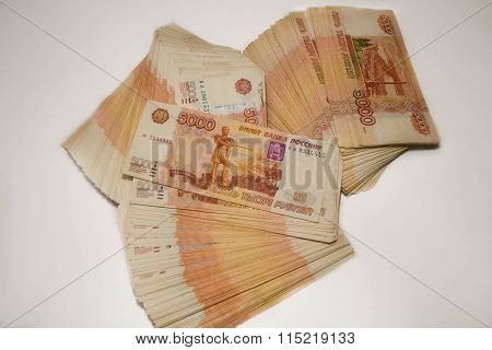 Russian Five Thousand And One Thousand Ruble