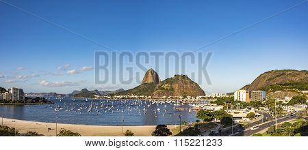 Sugar Loaf  and Botafogo beach