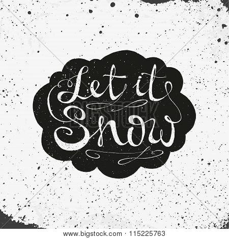 Hand Drawn Lettering Design. Conceptual Handwritten Phrase.