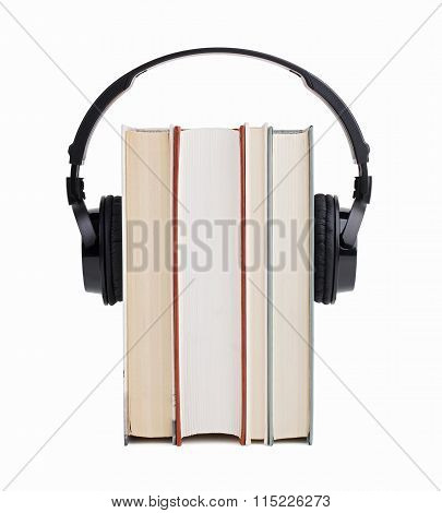 Headphones Put On A Few Books