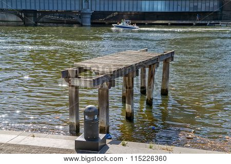 Melbourne old wooden dock