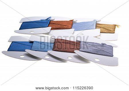 Needlepoint Ribbon Rolls