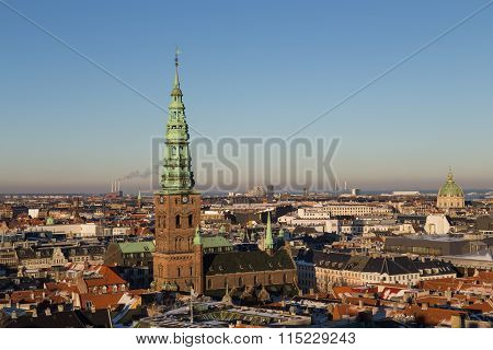 Copenhagen Skyline View