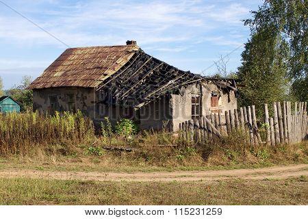 Old ruined farmhouse