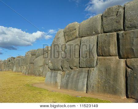 Sacsayhuaman Ruins,Cuzco, Peru.