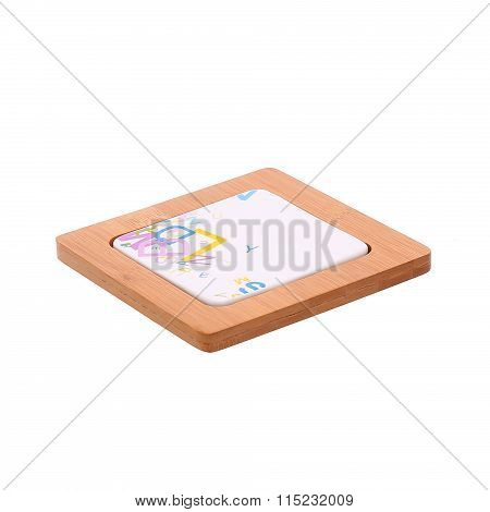 wooden hot pad