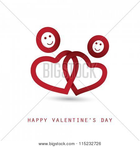Valentine's Day Card - Design Illustration for Your Greeting Card
