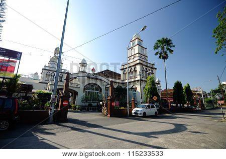 Muhammadi Mosque or The Kelantan State Mosque in Kelantan, Malaysia