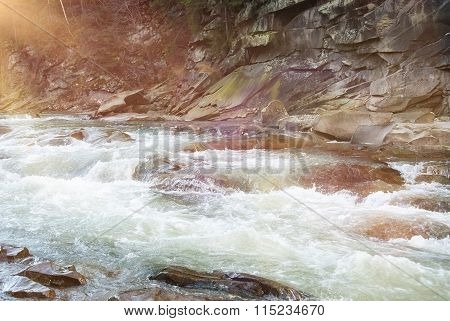 Threshold Of The Mountain River