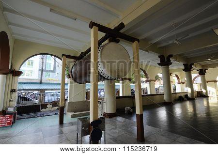 Beduk of Muhammadi Mosque or The Kelantan State Mosque in Kelantan, Malaysia
