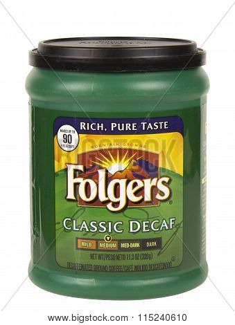 Folgers Decaf Coffee