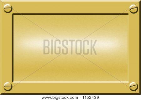 Metal Nameplate