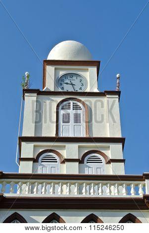 Minaret of the Muhammadi Mosque The Kelantan State Mosque