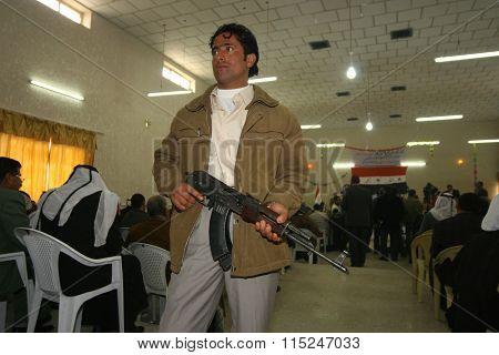 Arabic Militant in Kirkuk