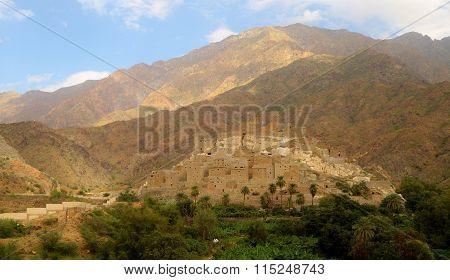 Thi Ain Ancient Village Al Baha