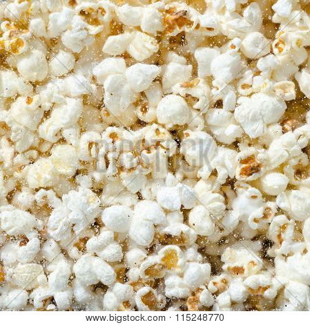 Hundreds Popcorns Background