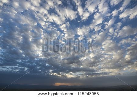 Clouds With The Blue Sky