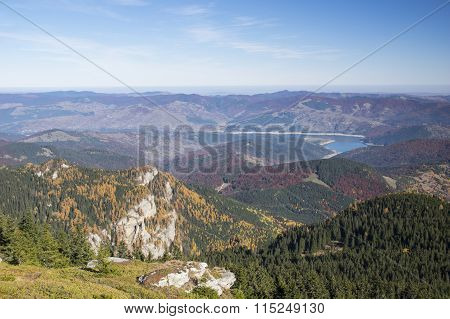 Autumn Mountain Valley
