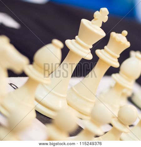 King Chess Pawns