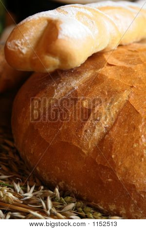 Baguette And Bread
