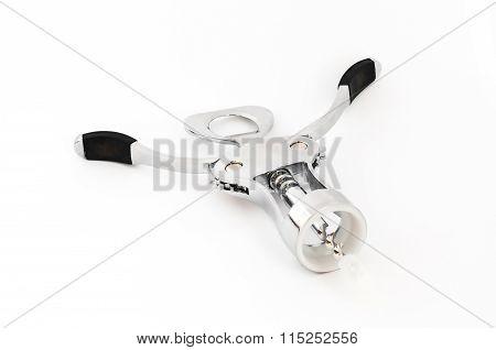 Metal Silver Mechanic Corkscrew