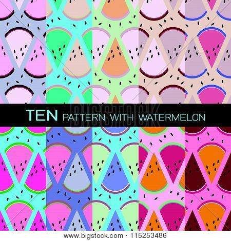 Design Pattern With Watermelon