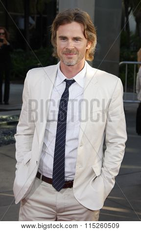 HOLLYWOOD, CALIFORNIA - June 21, 2011. Sam Trammell at the HBO's season 4 premiere of