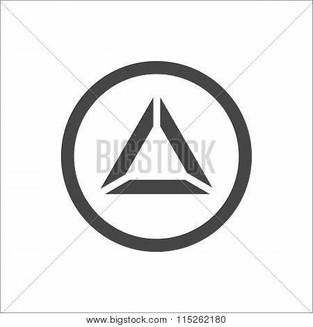 Triangle Pyramid Abstract Icon