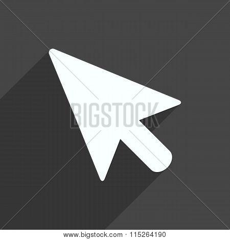 Pointer Icon. Vector Illustration.