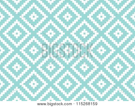 Seamless Modern Stylish Texture And Pattern. White Repeating Geometric Tiles With Dotted Rhombus On